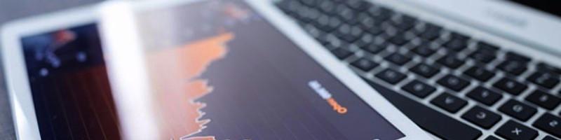 web trading image